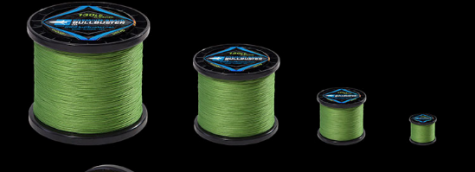 2500 Yard Spools Of Green Braided Fishing Line
