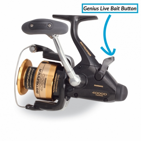 Shimano Baitrunner Button