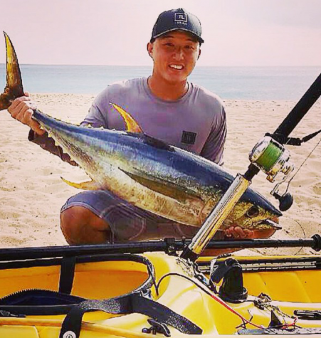 Ahi Fishing On Kayaks