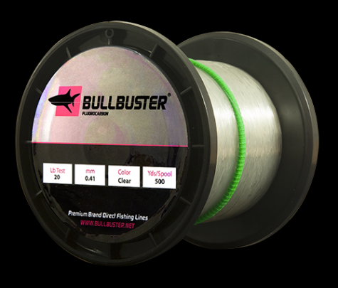 500 Yard Spool Of 80 Lb Fluorocarbon