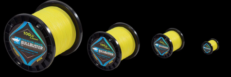 Yellow Braided Fishing Line