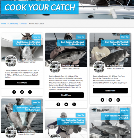 Learn How To Cook Your Catch
