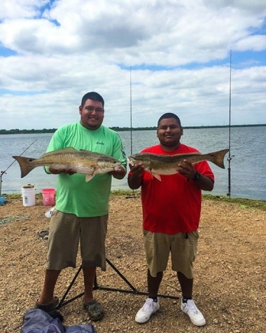 redfish on bullbuster